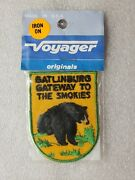 Voyager Originals Vintage Iron On Patch Gatlinburg Gateway To The Smokies
