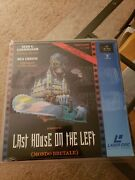 Last House On The Left German Laserdisc Pal Format Brand New And Sealed Rare