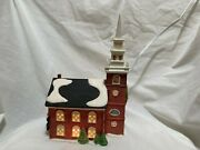 Dept 56 Heritage Village Collection Old North Church Hand-painted Porcelain1988