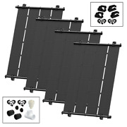 Heliocol Solar Pool Heating System [diy Kit] - 168 Sq Ft - 4 4and039x10.5and039 Panels