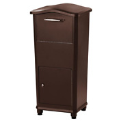 Large Package Mailbox Parcel Drop Box Postal Post Locking Secure Hardware Home