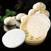 500pcs Home Perforated Parchment Paper Liners Round Perfect For Air Fryer Tool