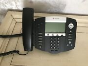 Used Polycom Soundpoint Ip 550 Sip Phone 2201-12550-001