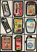 1975 Topps Wacky Packs Series 15 Complete Set 30/30 Nm- Packages Bloodweiser