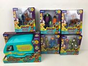 Scooby Doo 50th Anniversary Action Figure And Mystery Machine Complete Collection