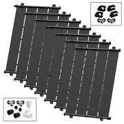 Heliocol Diy Solar Pool Heater Kit - 7 4and039x10.5and039 - 294 Square Feet