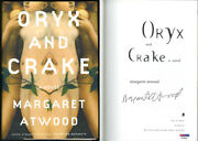 Margaret Atwood Signed Oryx And Crake Hc 1 Ed Psa/dna Autographed Handmaids Tale