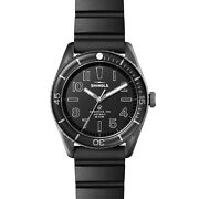 Shinola 42mm The Duck All Black Expandable Rubber Watch S0120183129