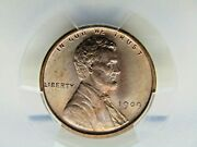 1909 Vdb Lincoln Penny Pcgs Graded Ms67 Rd Beautiful Coin