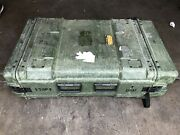 Hardigg Style Rack Mount Case General Dynamics Military Electronics Crate 36.5