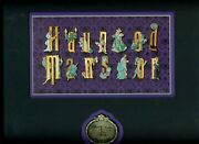 Disney Room For One More Event Haunting Spells Haunted Mansion Framed Pin Set
