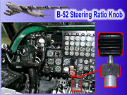 B-52 Steering Angle Knob - Located Near Pilots Right Hand - Very Cool Piece
