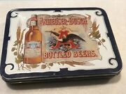 Anheuser-busch Bottled Beers Two 2 Sets Of Classic Playing Cards And Case