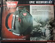 Warn 97565 Winch Winching Epic Recovery Kit Snatch Block Clevis D Shackle Strap