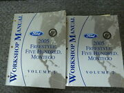 2005 Ford Freestyle Suv And Five Hundred Sedan Shop Service Repair Manual Set