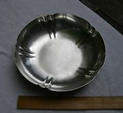 Fine Randahl Sterling Arts And Crafts Style Serving Bowl-9 Inch-no Mono-nr