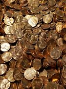 1959 - 60and039s 70and039s 80and039s Roll Bu Lincoln Memorial Cents P D S 50 Pennies Mixed Lot