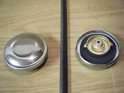 27 Jewett Stainless Chrome New Replacement Gas Fuel Cap 1927 Petrol Tank Lid