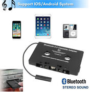 Car Audio Bluetooth Cassette Adapter Aux Jack Tape Converter For Iphone Android