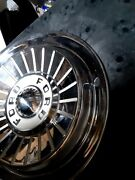 1957 Ford 14 Fairlane Galaxie Hubcaps Wheel Covers Center Caps. Vintage