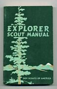 Explorer Scout Manual... Boy Scouts Of America...1946 Edition  Exc.