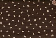 King Of The Ranch Brown Stars Spur Rowels Western Moda Fabric