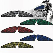 Skull Head Fuel Gas Tank Stickers Motorcycle 3d Decals Fit For Harley Xl883 1200
