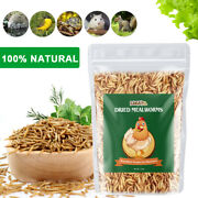 Non-gmo Dried Mealworms Fit Birds Chickens Fish Reptile Turtles 11 22 44 Lbs Usa