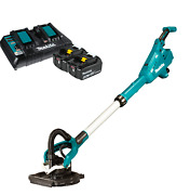 Makita Cordless Drywall Pole Sander With Dual Port Charger And Two Batteries Com