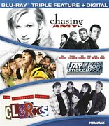 Kevin Smith Triple Feature Blu-ray Clerks Chasing Amy Jay Silent Bob Strike Back