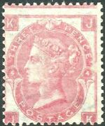 Sg 92 3d Rose. A Very Fine Unmounted Mint Example