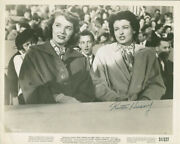 Ruth Hussey - Photograph Signed