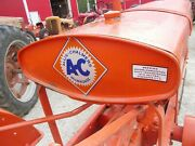 Unstyled Allis Chalmers Wc Tractor Repainted Gas Tank W/ Cap And Sediment Bowl