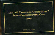 The 1925 California Forty-niner Silver Commemorative Coin