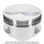 Je Pistons For Chevy 400 Small Block Flat Top 4.155 Bore 3.750 Stroke 181940