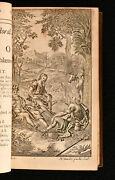 1716 3vol In1 The Works Of Virgil Fourth Edition Illustrated Scarce