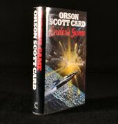 1985 Enderand039s Game Orson Scott Card First Edition Dustwrapper
