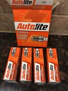 Autolite 106 Copper Resistor Spark Plugs Small Engine Lot Of 8 Boxes Of 4