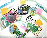 Choose One, 43 Girl Scout Council Patches By State Mi, Ms, Mt, Ne, Nv Badges