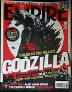 2014 Empire Movie Magazine, X Men + Destroy All Monsters Poster, Terry Gilliam