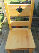 Solid Maple And Birch Southwest Desk Chair / Sidechair