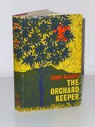 1st Print The Orchard Keeper Cormac Mccarthy Andre Deutsch 1966 Uk Hb Road