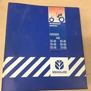Fiat Fiatagri 446/dt Service Shop Repair Manual Ag Tractor Guide New Holland