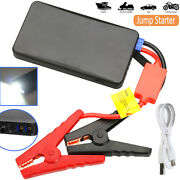 Portable Slim Mini Car Jump Starter Booster Engine Battery Charger Power Bank