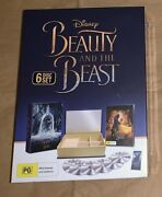 Beauty And The Beast - Limited Edition 6-disc Chest- Blu Ray/dvd Region B Rare