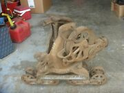 Vintage Rare Antique Cast Iron F. E. Myers Hay Unloader Trolley Pulley Free Ship