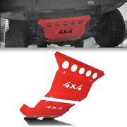 Front Engine Under Tray Bash Skid Plate Sump Guard For Toyota Hilux 08-15