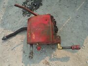 Ih Farmall Tractor Sh Hydraulic Unit Under Gas Tank Works Fine