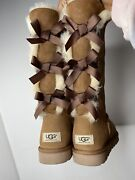Bailey Bow Uggs Size 7, Worn Once. On Ugg And Nordstrom For 240