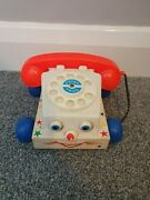 Vintage 1961 Fisher Price Chatter Telephone Phone